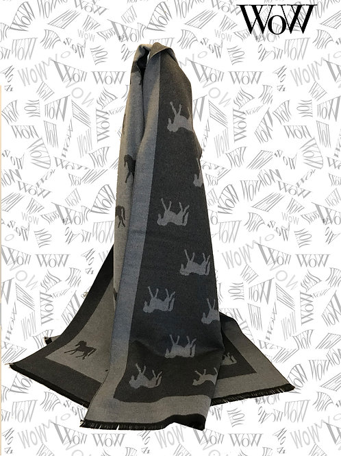 HT04 Horse Design Scarf/Shawl colours listed below