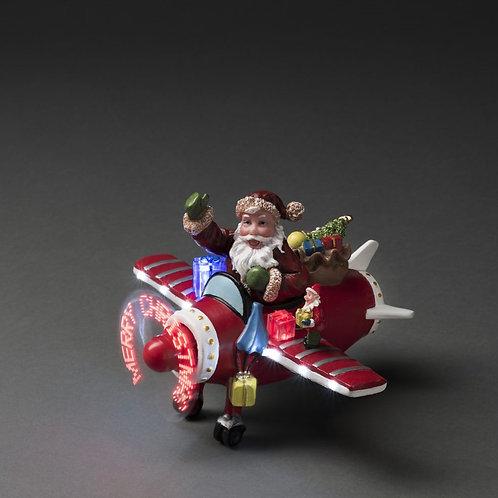 KS011 Santa in the airplane