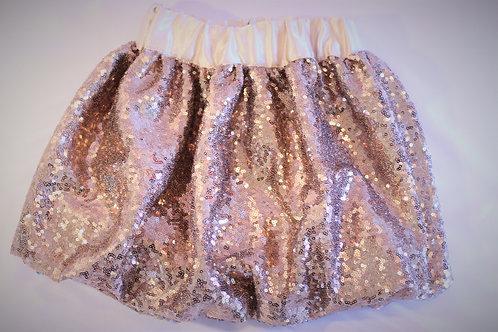 Sequin Bubble Skirt