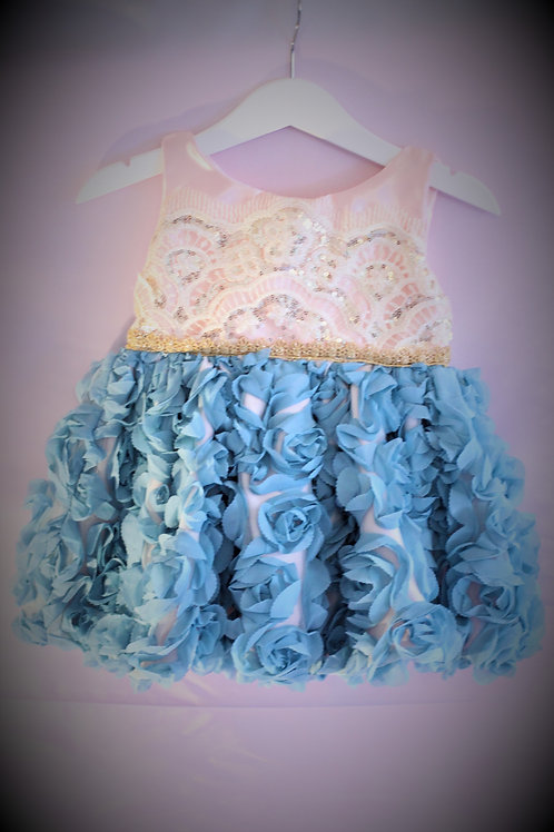 Pink and Blue Princess Dress