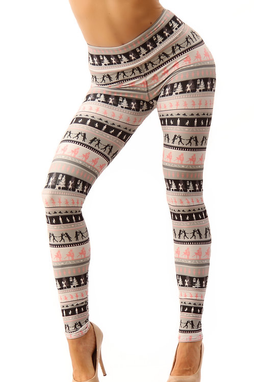 Adult- Deluxe Plush Nutcracker Leggings