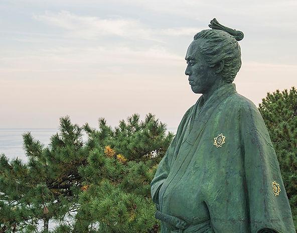 坂本龍馬、高知県、高知市、桂浜、土佐
