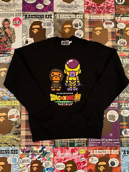 BAPE DRAGON BALL SUPER CREWNECK