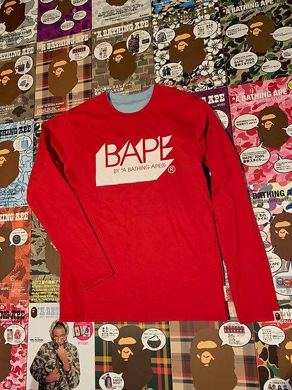 BAPE L/S TEE (REVERSIBLE)
