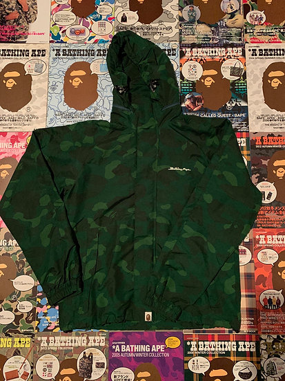 BAPE GREEN CAMO JACKET