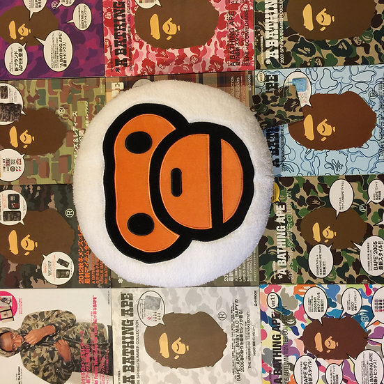 "BAPE ""MILO"" PILLOW"