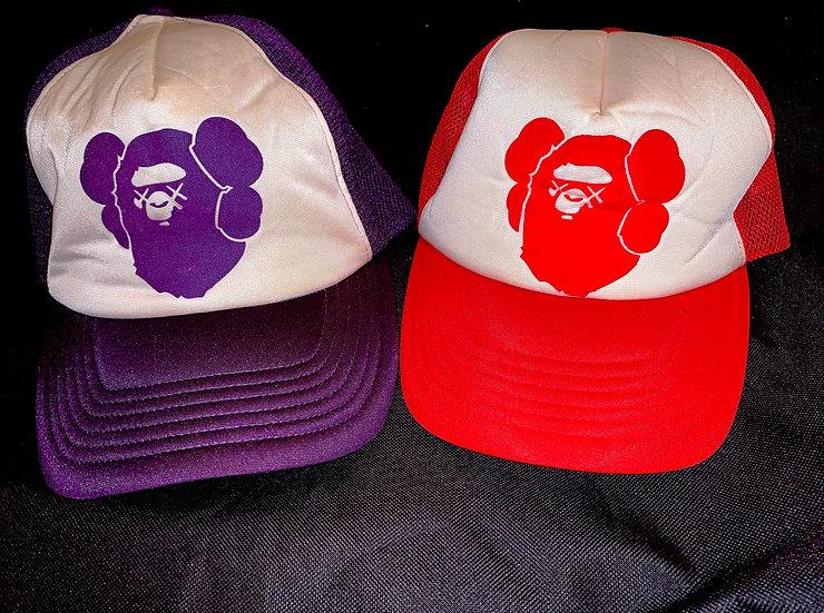 BAPE KAWS CAP