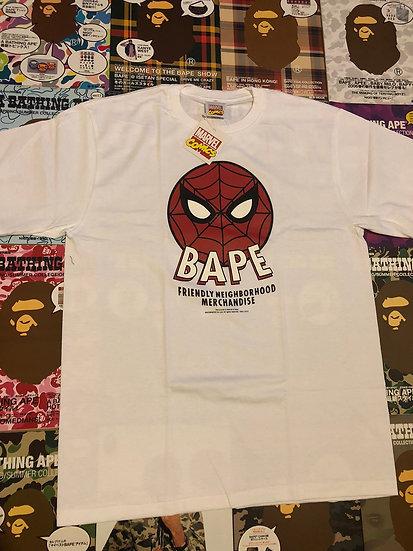 BAPE X MARVEL SPIDER-MAN TEE