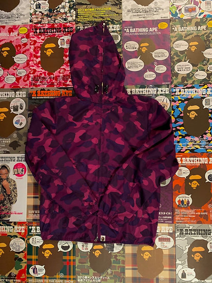 BAPE PURPLE CAMO JACKET