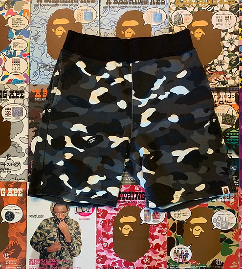 BAPE CITY CAMO SHORTS
