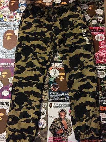 BAPE CAMO SWEATS