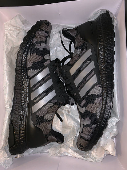 BAPE BLACK CAMO ULTRA BOOST SIZE 10.5