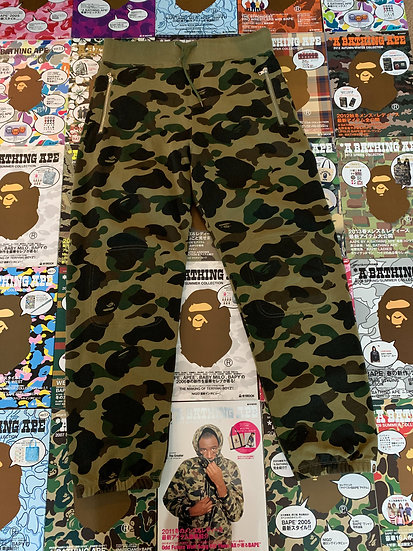 BAPE GREEN CAMO SWEATS