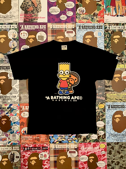 BAPE X SIMPSONS TEE