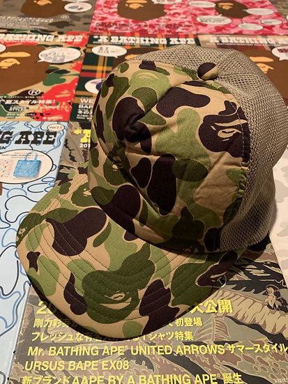 BAPE GREEN CAMO CAP
