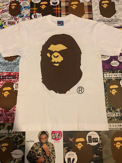 BAPE ANGRY FACE HEAD TEE