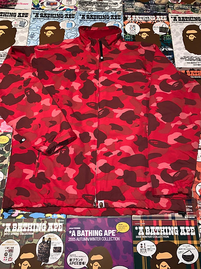 BAPE RED CAMO JACKET