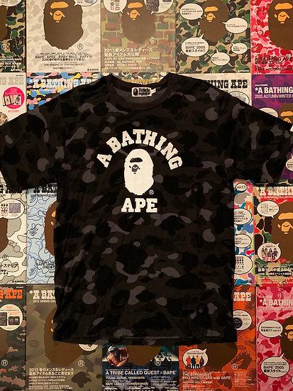 BAPE BLACK CAMO TEE