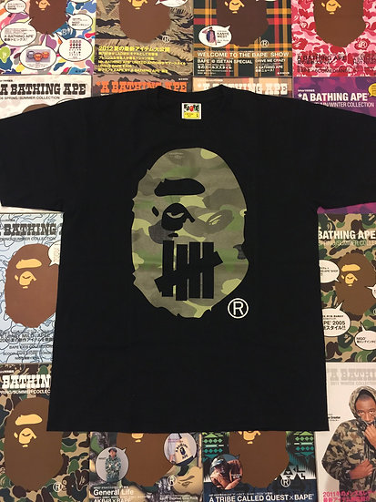 BAPE HEAD TEE (UNDEFEATED COLLAB)