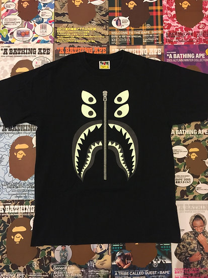 BAPE BOUNTY HUNTER SHARK TEE