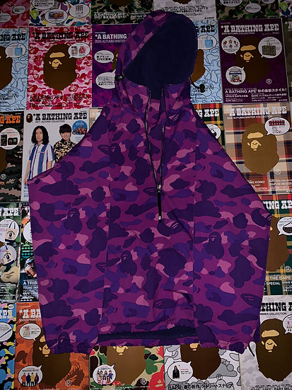 BAPE PURPLE CAMO COAT