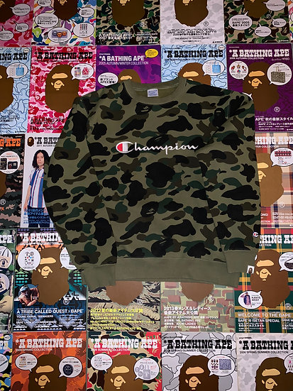 BAPE CHAMPION CREWNECK