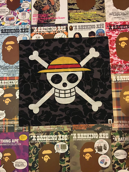 BAPE ONE PIECE BANDANNA