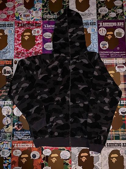 BAPE BLACK CAMO HOODIE