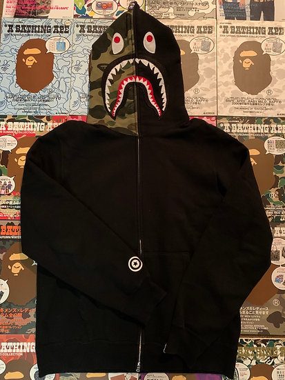 BAPE SHARK FULL ZIP