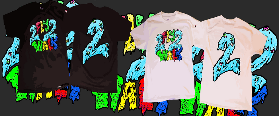 2DRIPPY TEE #2FLY2WALK