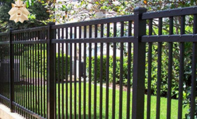 "<img src=""ornamentalironfence.jpg"" alt=""installing a ornamental fence in Weston Lakes subdivison"">"