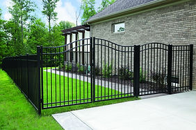 "<img src=""AluminumGate.jpeg"" alt=""Installing aluminum fence gate"">"