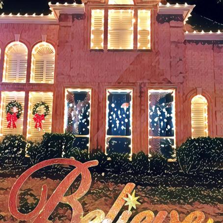 Christmas Light Installation Company in Houston