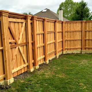 Fences & Decks are made to last but over time can break & wears down instead of trying to solve your dilemma with a new build we save your existing fence or deck by making necessary repairs. A new fence or deck i our last resort.