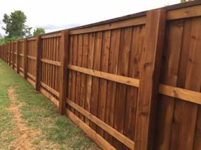 Katy HOA Wooden Fence Rules