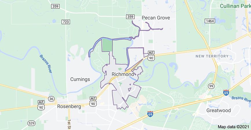 "<img src=""RichmondTXmap.jpg"" alt=""fence installation map for Richmond TX"">"