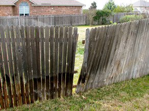 Fence Repairs with DYI Instruction For Katy Homeowners