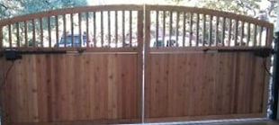 """<img src=""""Woodfencegate.jpeg"""" alt=""""Buiding driveway fence gate for Katy TX resident"""">"""