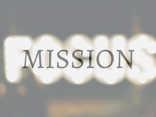 """""""Focus on Your Mission..."""""""