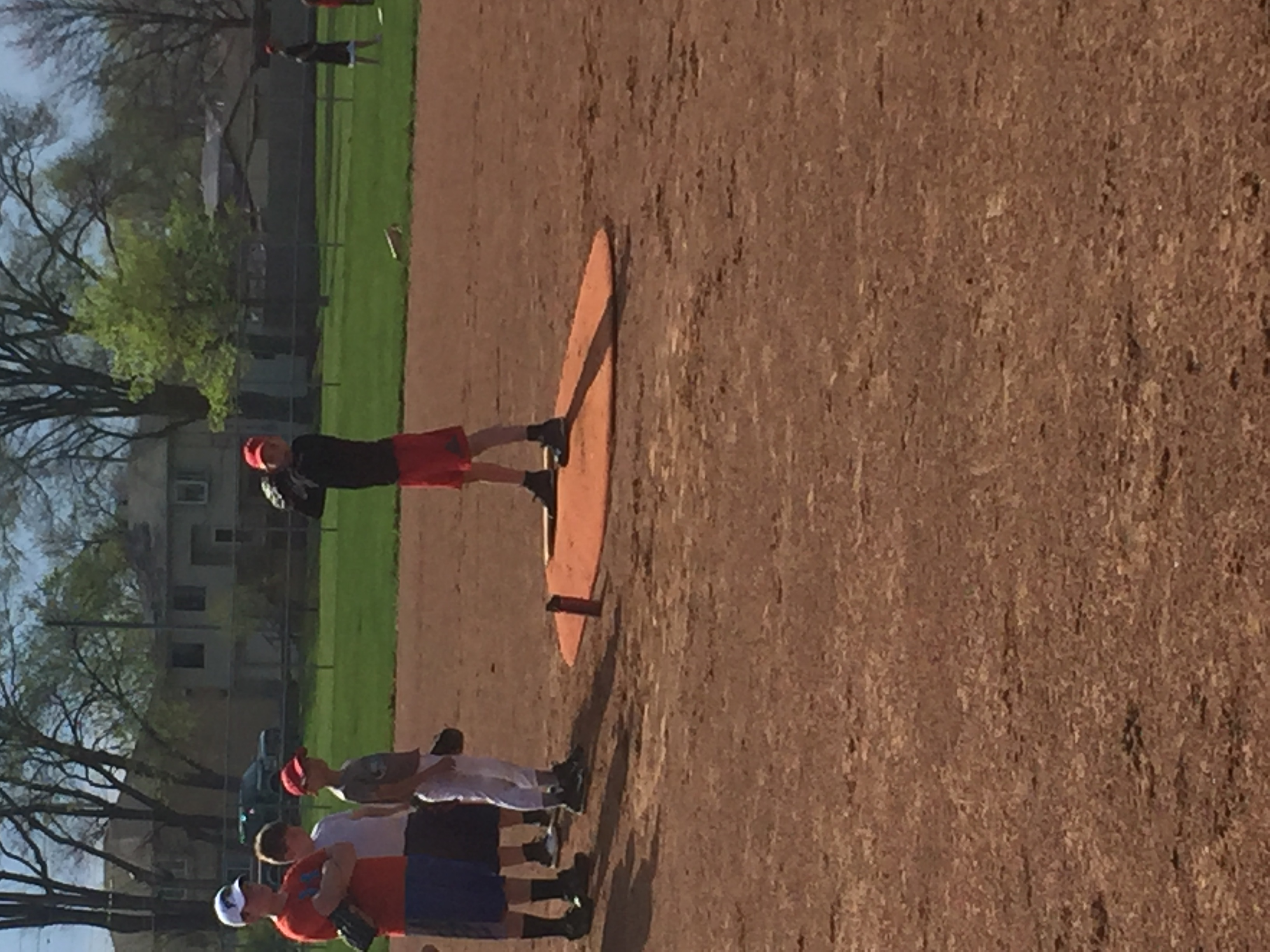 Pitching Practice