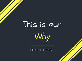 This is our Why