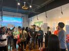 abertura da exposição