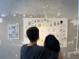 artista Lucas Furquim e sua mãe