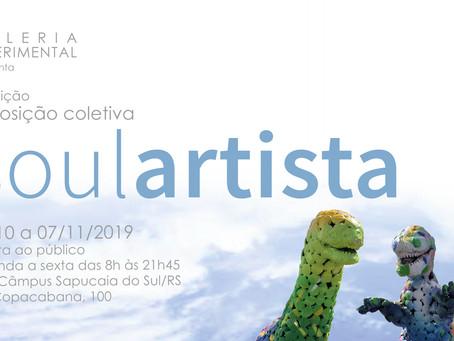 Galeria Experimental apresenta segunda edição da exposição SoulArtista