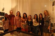 equipe de produção da exposição