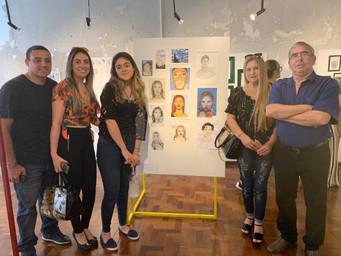 artista Tuanne Gularte e seus familiares