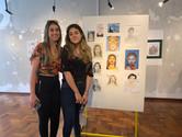 artista Tuanne Gularte e sua mãe