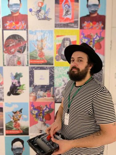 artista Marcos Coelho