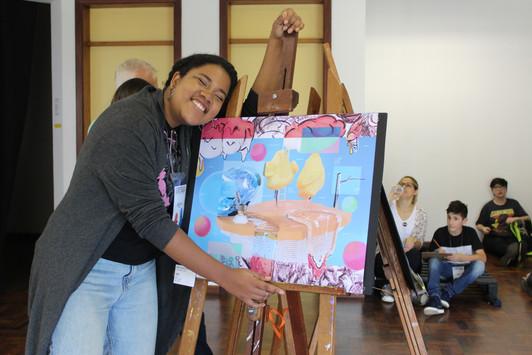 artista Raquel Araújo
