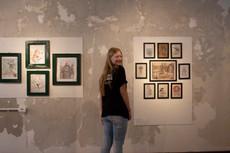 Integrante da equipe da Galeria Experimental, Ana Wolf. Foto: Eduarda Peres